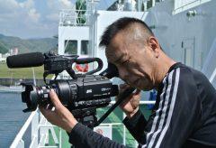 JVC LS300+KOWA PROMINARで新島プロモーションムービーを撮る