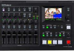ローランドからライブ配信対応のフルHD AVミキサー「VR-4HD」が発売。音量自動調節機能を新搭載