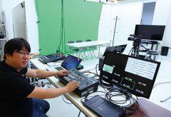 【ローランドAVミキサーの現場】<br />ネット動画配信用の小規模スタジオを作る