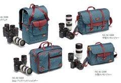 マンフロット、ナショナルジオグラフィックのカメラバッグ「オーストラリアコレクション」を発売