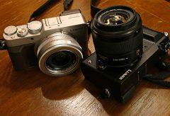 取材カメラをLUMIX GX7MK2へ