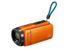 JVCから、防水、防塵、耐衝撃、耐低温に対応したY字グリップベルト採用のHDビデオカメラ