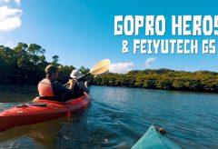 西表島カヌー&トレッキングツアー撮影で防水ジンバル FeiyuTech G5を試す