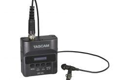 ウェアラブルや仕込みで便利に使えるラベリアマイク付きレコーダー タスカムDR-10L
