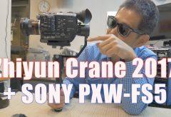 【VLOG 130-131】中国製の手持ちジンバルZhiyun Craneのこと