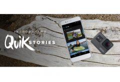 GoPro、新しい動画編集ソリューション QuikStories を発表