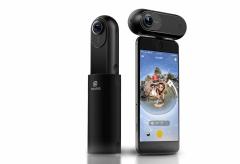 自撮り棒を消してバレットタイム撮影ができる! 4K/30pの360度VRカメラInsta 360 ONEが登場