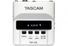 TASCAM ピンマイクレコーダー DR-10L にホワイトカラーモデルが登場