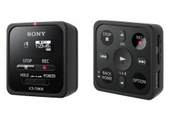 ソニー、携帯性に優れた小型・軽量ICレコーダー ICD-TX800 を発売
