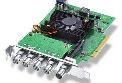ブラックマジックデザイン、クアッドリンク12G-SDI 搭載の DeckLink 8K Pro を発売