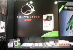日本シーゲイト/クリエイティブ・プロフェッショナル向けHDD、IronWolf Pro