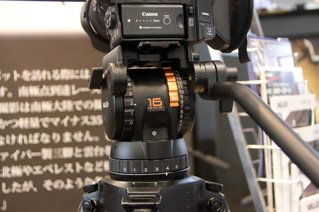 ベルボン/カウンターバランス機構搭載FHD-66AとMILLER compass X