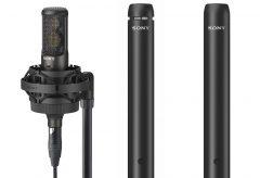 ソニー、広帯域収音でハイレゾ音源収録対応のコンデンサーマイク・C-100など3機種を発売