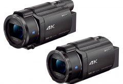ソニー、空間光学手ブレ補正搭載4Kハンディカム・FDR-AX60/AX45 を発売