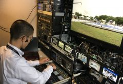 Blackmagic Design 12G-SDI 製品をスラックラインワールドカップの4K/60p生中継とウェブ配信で使用