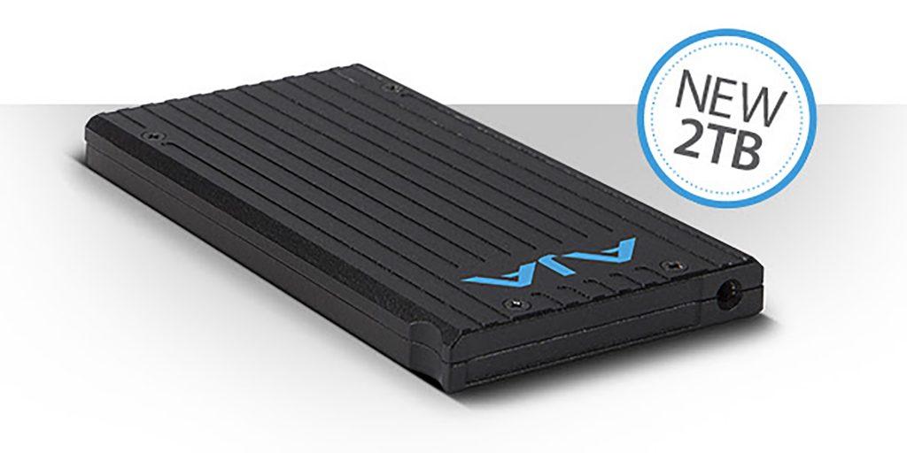 AJA 社、2TBのSSD収録メディア『Pak 2000』を発表