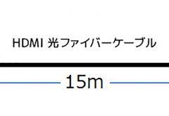 ラトックシステム、ARC対応 4K60Hz HDMI 光ファイバーケーブル「RP-HDAOC4K60-015」を発売