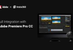 Arashi Vision、Insta360 Proで撮影したVR素材をステッチ不要でPremiere Proに読み込める無償の編集拡張プラグインを開発