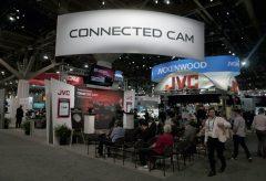 "【NAB Show2018】JVC、新発表の""CONNECTED CAM""によるIP伝送の世界を展示"