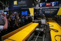 【NAB Show2018】ニコンではロボットによる映像制作の効率化をメインとした展示