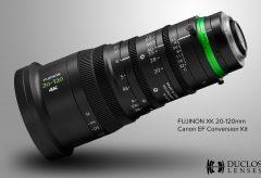 銀一、Duclos Lenses製「Canon EF Mount Kit for Fujinon XK」を発売