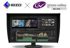 EIZO、放送機器メーカー「グラスバレー社」と協業、映像編集作業を効率化
