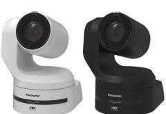 パナソニック、4K/60p出力対応の回転台一体型4Kインテグレーテッドカメラ「AW-UE150」と、 大型タッチパネル式モニター搭載のリモートカメラコントローラー「AW-RP150」を開発