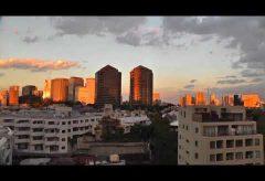 【Views】『ベランダからの季節の移ろい』7分27秒~まるで映画の「裏窓」のように自宅のベランダから見える目黒川の風景中心に季節をあじわう