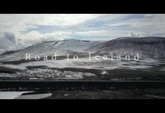 【Views】『Road to Iceland』3分53秒~氷河と温泉地帯、何もない大地とそこに暮らす動物たちと対になる視点で描く広い画とロングショットが美しい