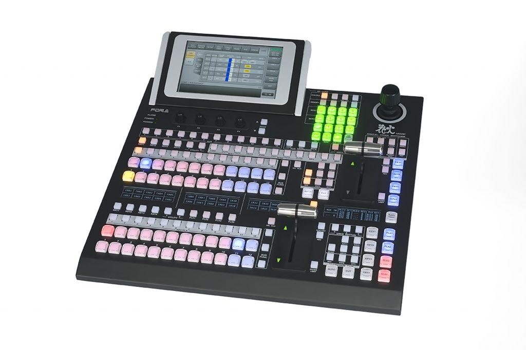 朋栄、12G-SDI入出力に標準対応したビデオスイッチャー「HVS-1200」を発売