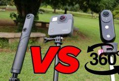 【動画レビュー】KANDAO QooCam vsGoPro Fusion vs Insta360 ONE 徹底比較