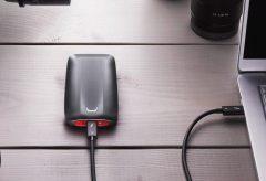 サムスン、Thunderbolt 3テクノロジーを用いた超高速外付けSSD「Samsung Portable SSD X5」