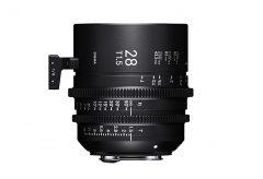 シグマ、映像制作用交換レンズSIGMA CINE LENSの「FF High Speed Prime Line」に3本の新製品を発表