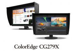 EIZO、映像制作用HDR表示に対応、 軽量・スリム化した27型モニター ColorEdge CG279X を発売