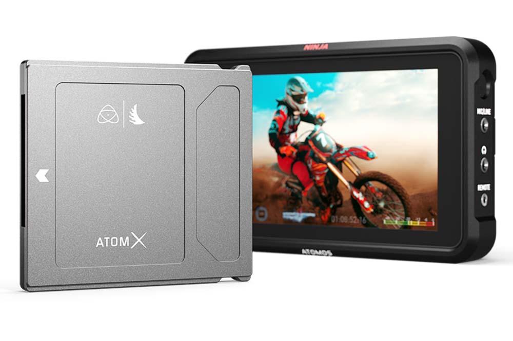 Angelbird社、NINJA VのAtomX SSDmini 規格に対応した 小型SSD モデルの新ラインナップを発売