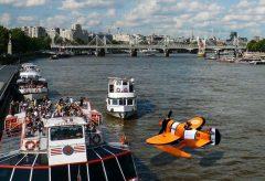 『たのしいひこうき』第2回/テムズ川のクマノミ水上飛行機。PLOTAVERSEで静止画から動画を作る!