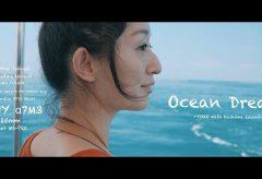 【Views】『ocean dream -YOKO with KASHIMA island』4分56秒~カメラをさげた女性とともに夏の終わりの鹿島を訪れる