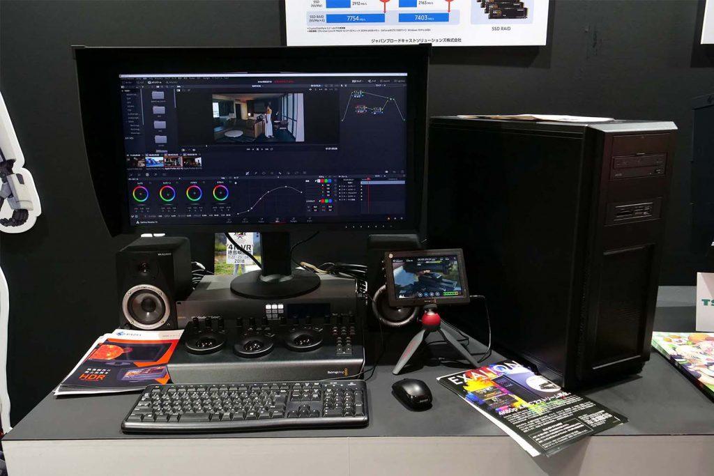 【Inter BEE 2018】ITGマーケティング/日本サムスンブース、SSDを活用した4K/60p編集用パソコンや外部ストレージなど