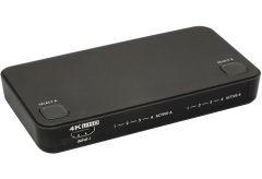 ラトックシステム、コンパクトでシンプル操作が特徴 4K 60Hz 対応 HDMI 4入力2出力マトリックススイッチ『RS-HDSW42-4K』を発売