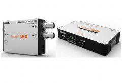 エーディテクノ、12G-SDI/クワッド 3G-SDI 対応コンバーター 4 機種発売