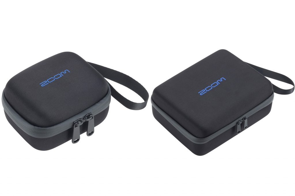 ズーム、フィールドレコーダー『F1』を傷や衝撃から保護する2種類のキャリングバッグを発売