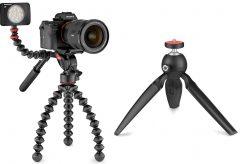 ヴァイテックイメージング、JOBY のテーブル三脚「ハンディーポッド ブラック」、動画撮影用ゴリラポ ッド「ゴリラポッド 5K ビデオ PRO」「ゴリラポッド 3K ビデオ PRO」を発売