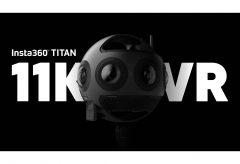 Arashi Vision、最大11Kの高画質を実現する8つのレンズを持つVR映画用カメラ『Insta360 Titan』を発売