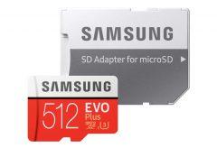 ITGマーケティング、サムスンの高速microSDXCカード 『 EVO Plus 』の512GBモデルを発売