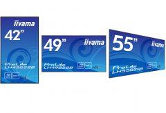 マウスコンピューター、iiyamaの業務用大型ワイド液晶ディスプレイ3機種を発売。24時間連続使用可能、5系統の映像入力に対応