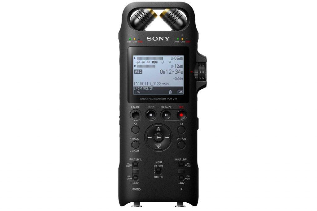 ソニー、高品位なレコーディングを実現するハイレゾ対応リニアPCMレコーダー『PCM-D10』発売