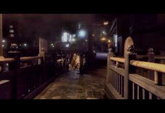 【Views】『20181231湯村温泉ナイトウォーク』2分9秒~何かが起こりそうな予感でわくわくする温泉街の夜歩きに