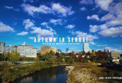 【Views】『AUTUMN IN SENDAI / 秋の仙台』5分~ロケハンを重ねじっくり練られたアングルで自然と都会のバランスを絶妙に描いていく
