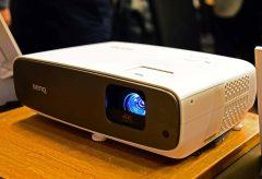 BenQ、独自の技術で色再現にこだわった短焦点4Kプロジェクター『HT3550』、ポータブルモデルの『GV1』を発売