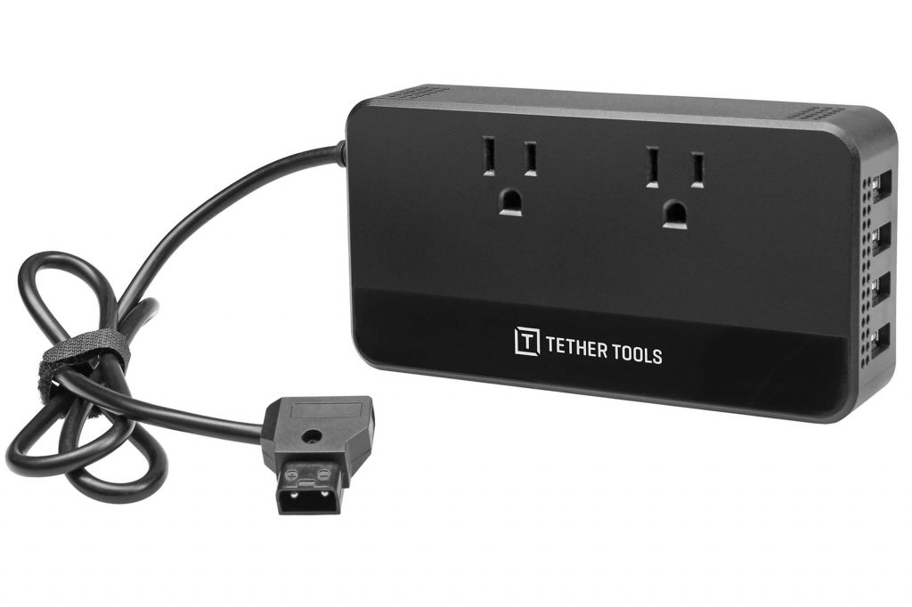 銀一、TetherTools(テザーツールズ)の新製品、D-Tap to AC パワーサプライなどを発売